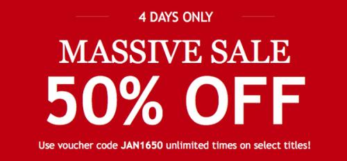 Kobo 50% Off Sale On P.I. Penguin!