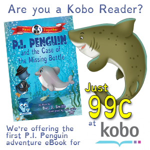 Get P.I. Penguin and the Case of the Missing Bottle in our 99c Sale At Kobo