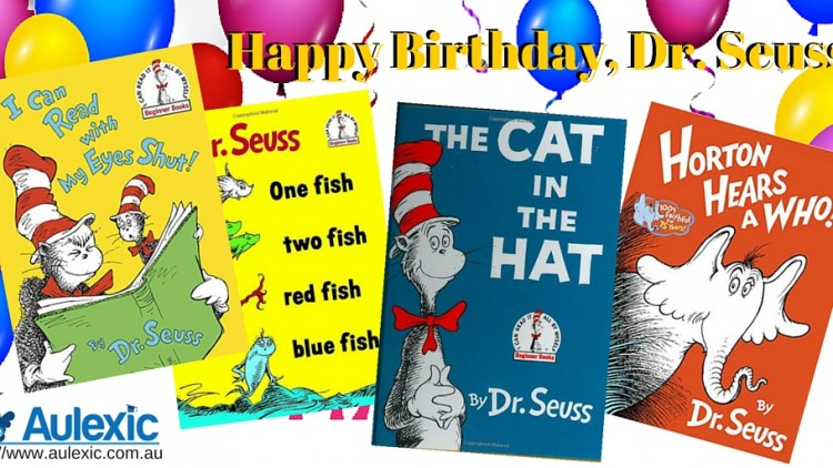News, Reviews, and Happy Birthday Dr Seuss