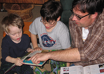 Reading Together: Dyslexia-friendly, for the whole family.