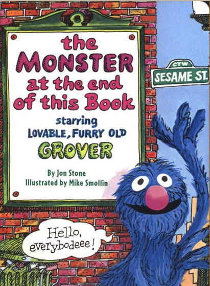 The Monster at the End of this Book - Starring Grover of Sesame Street
