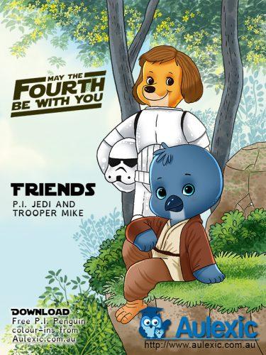 Star Wars Day - Friends