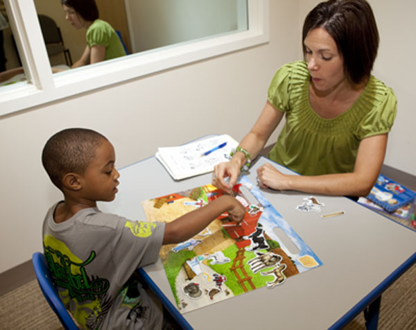 Speech Therapy can help children with language and literacy difficulties.