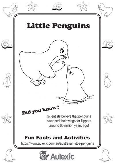 Check out our Australian Little Penguins activity booklet!