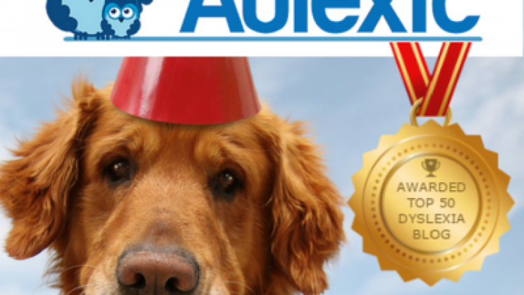 Aulexic Earns Top 50 Dyslexia Blog Award!
