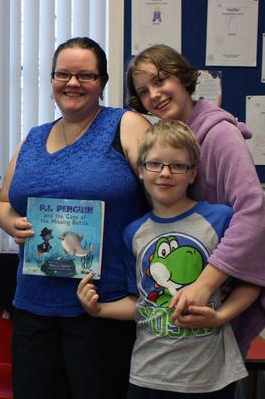 Bec J. Smith: The author team of Rebecca Laffar-Smith and her children, Kaylie and Joshua