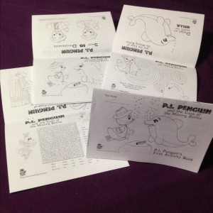 P.I. Penguin's First Activity Book