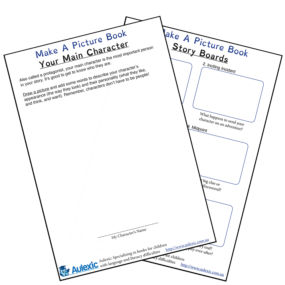 Picture Books Worksheet for kids!