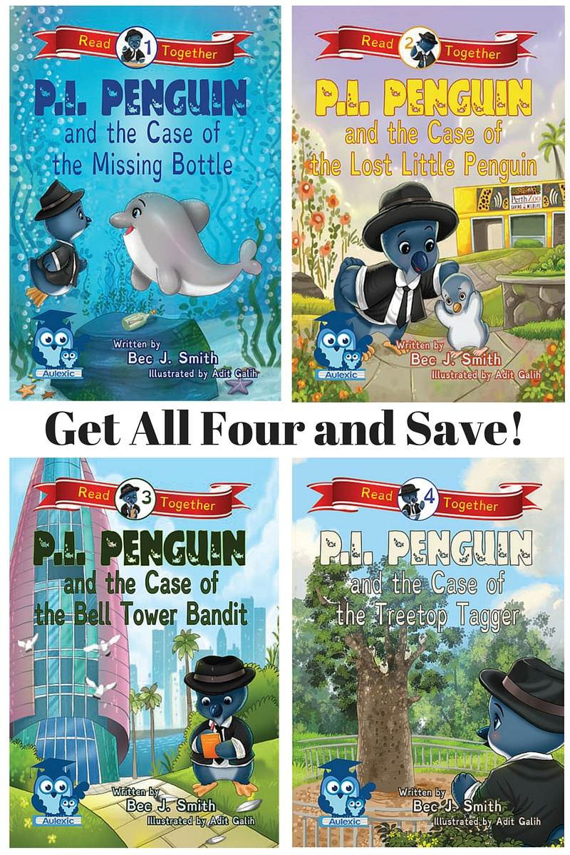 The P.I. Penguin Series by Bec J. Smith