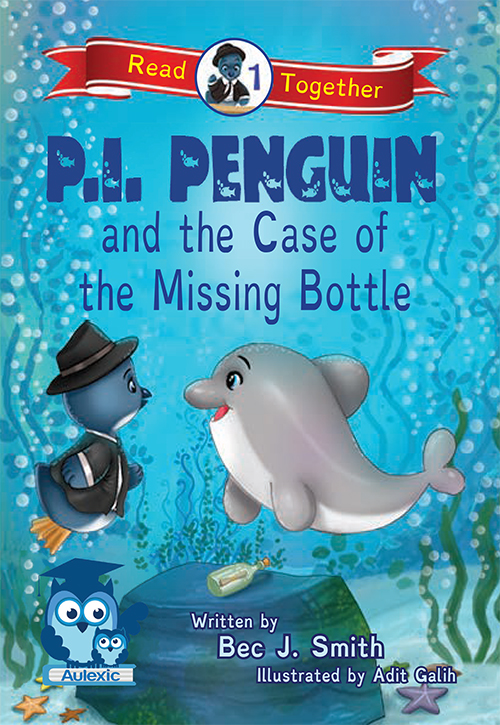 P.I. Penguin and the Case of the Missing Bottle book cover