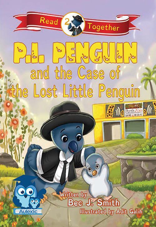 P.I. Penguin and the Case of the Lost Little Penguin book cover