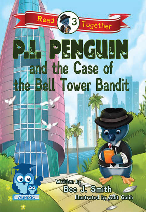 P.I. Penguin and the Case of the Bell Tower Bandit book cover