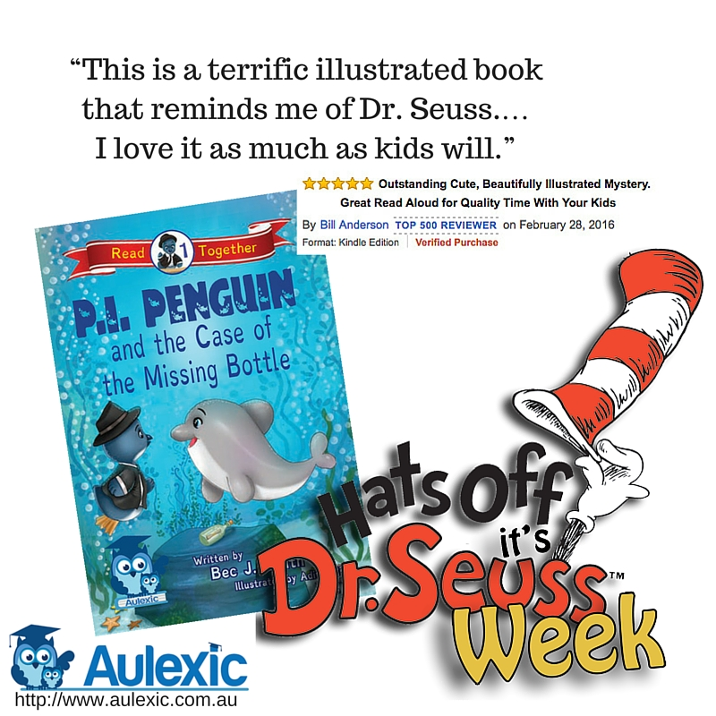 'This is a terrific illustrated book that reminds me of Dr. Seuss. ... I love it as much as kids will.' Bill Anderson [TOP 500 REVIEWER]