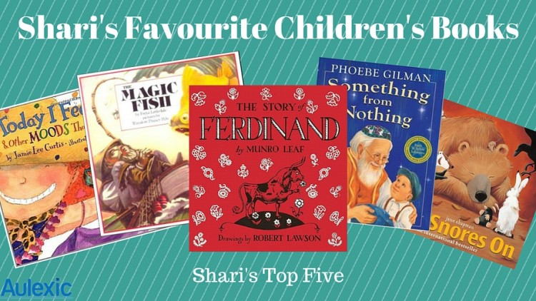 Favourite Children's Books (Shari's Top Five)