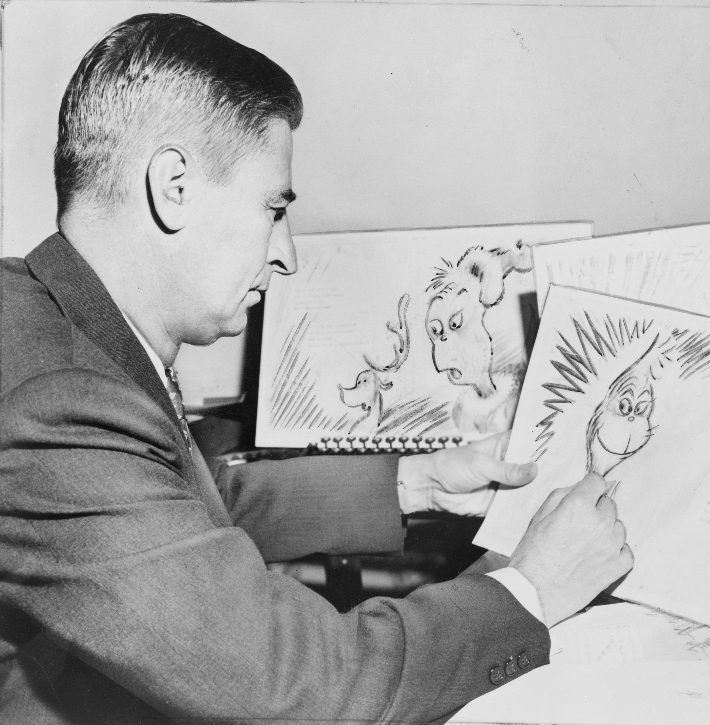 Ted Geisel AKA Dr Seuss