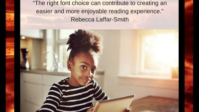 Does Font Really Matter To Children With Dyslexia?