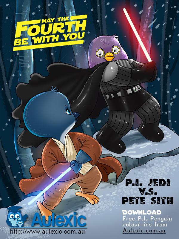 Star Wars Day - P.I. Jedi vs Pete Sith