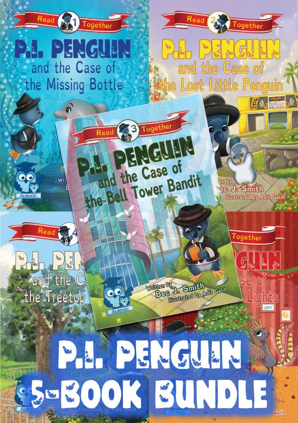 P.I. Penguin Bundle (First 5 Books)
