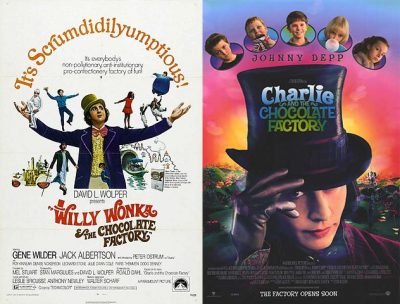 Willy Wonka and the Chocolate Factory - Children's Books to Movies