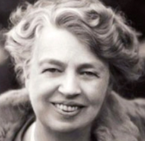 First Lady, Eleanor Roosevelt, Dyslexic