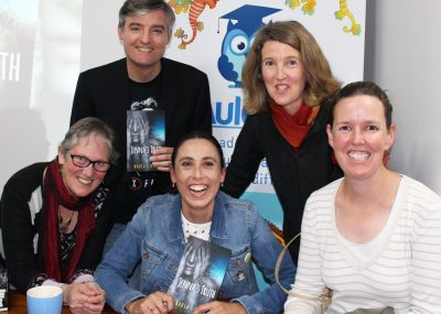 Some of our friends from the Society of Children's Book Writers and Illustrators came along too!