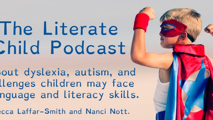 The Literate Child Podcast – First Recording Session!