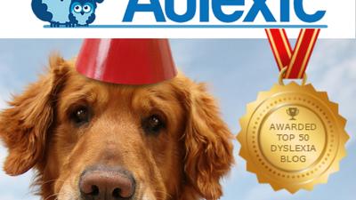 Aulexic Earns Top 50 Dyslexia Blog Award!