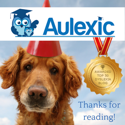 Top 50 Dyslexia Blog Award