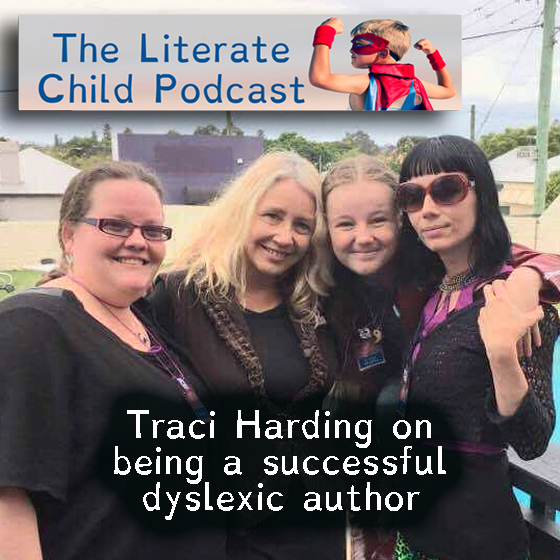 #017 Traci Harding on being a successful dyslexic author
