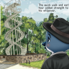 P.I. Penguin and the Case of the Treetop Tagger Pages 8 & 9