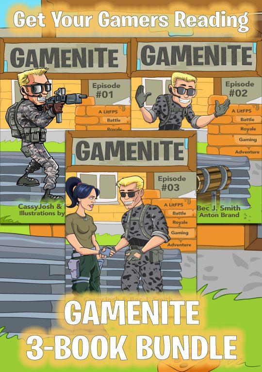 GameNite Bundle (First 3 Books)